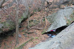Rock Climbing Photo: Breakneck is a SWPA gem that has both sport climbi...