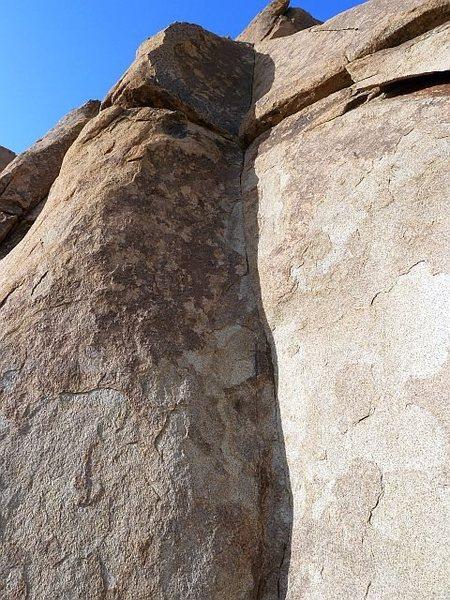 Rock Climbing Photo: Sicker than Jezouin (5.10d), Joshua Tree NP