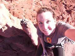 Rock Climbing Photo: Family Vacation! Tip top of Ancient Art
