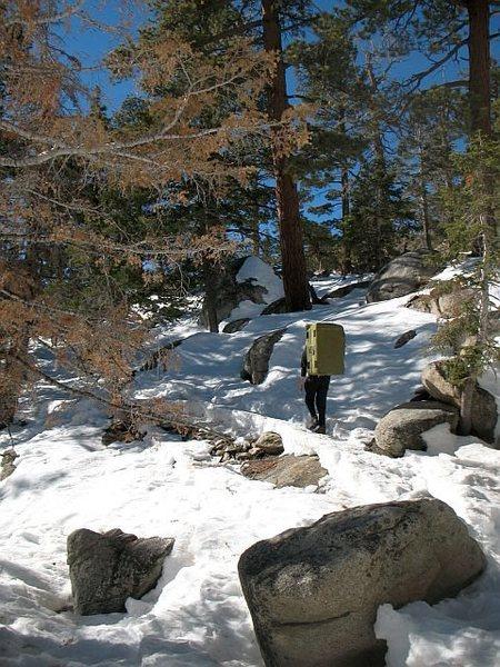 Rock Climbing Photo: Winter Wonderland, Tramway