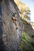 Rock Climbing Photo: Getting it done!! Photo by Travis Mortz