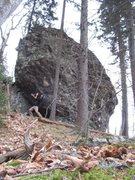 Rock Climbing Photo: Big Rig Boulder