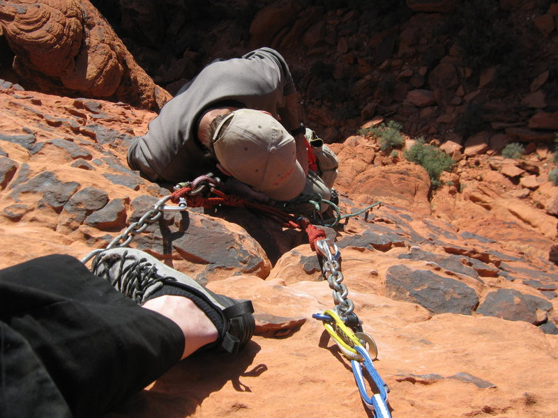 Rock Climbing Photo: andrew/dirty son of cinch top of  November Daze