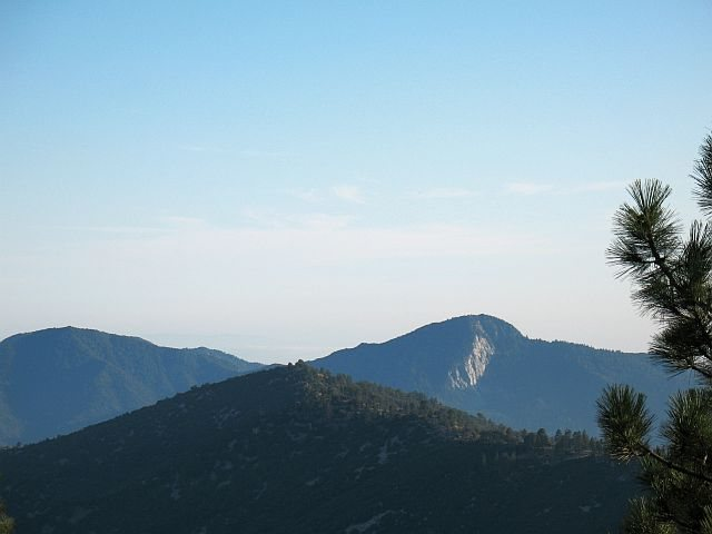 Strawberry Peak, Angeles NF