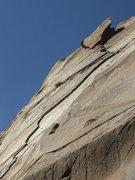 Rock Climbing Photo: The Sweet Thin flake.