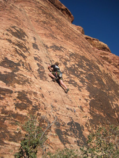 Rock Climbing Photo: 5.10a friction