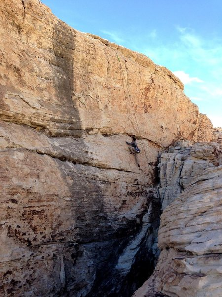 Rock Climbing Photo: Matt on the Big Short