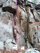 Rock Climbing Photo: Goldfinger