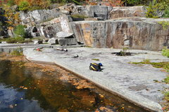Rock Climbing Photo: Augusta quarry