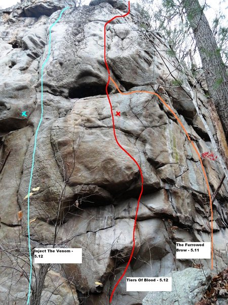 Rock Climbing Photo: Tiers Of Blood