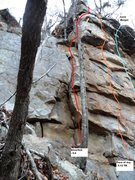 Rock Climbing Photo: Silverfish