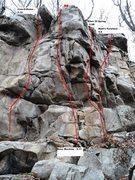 Rock Climbing Photo: Bone Machine