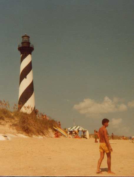 Cape Hatteras,OBX, N.C. 9/19/78<br> Photo: Olaf Mitchell
