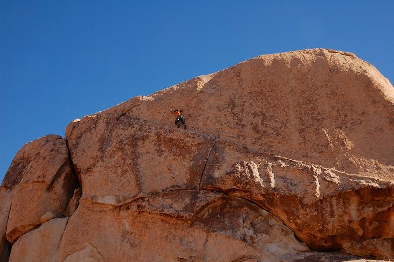 Rock Climbing Photo: Sidewinder!