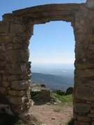 Rock Climbing Photo: The seacost from the ruins of the La Mussara villa...