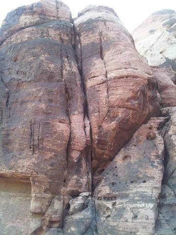 Rock Climbing Photo: lancaster levels luxor