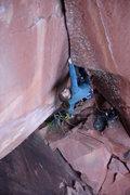 Rock Climbing Photo: Japanese Cowboy 5.12+ FFA LiMing, China.