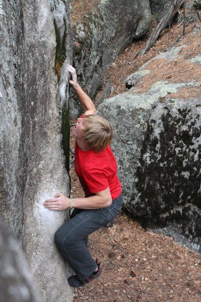 Rock Climbing Photo: 4 on 6 at baldy