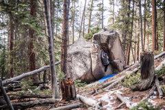 Trail Boulder.