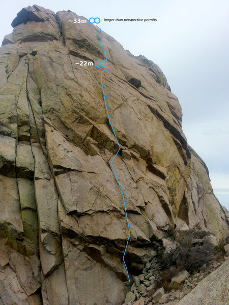 Rock Climbing Photo: slightly more west