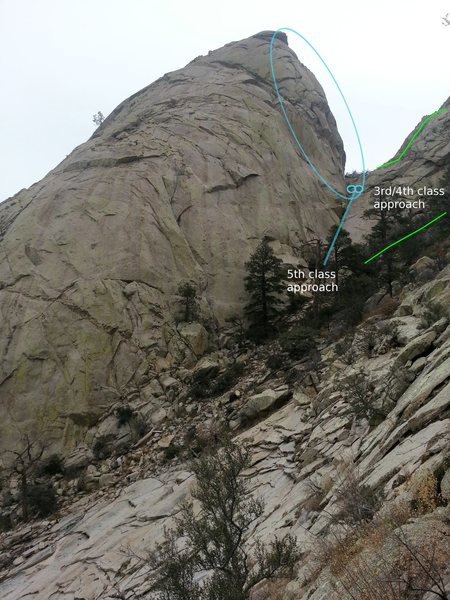 Rock Climbing Photo: Currently hosting Many Times (aka Crackle Top) & C...