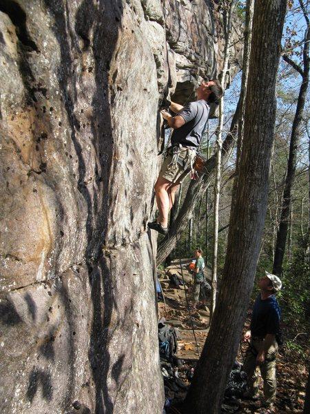 Rock Climbing Photo: Hardly Started.