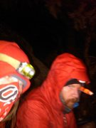 Rock Climbing Photo: chirs an me freezing