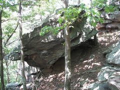 Rock Climbing Photo: When you see this boulder from the trail you know ...