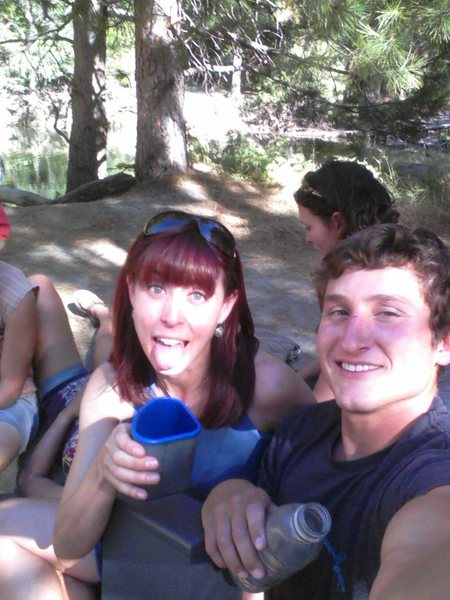 Day drinking in El Cap Meadow.