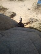 Rock Climbing Photo: Belaying Zack in Margaritaville