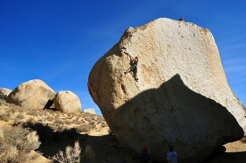 Rock Climbing Photo: Southwest Arete - 5.9