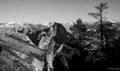 Rock Climbing Photo: Half Dome as seen from Eagle Peak