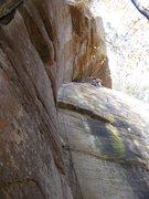 """Rock Climbing Photo: Enjoying the superb climbing on """"Cheaper than..."""