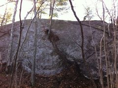 Rock Climbing Photo: The Alley Slab.