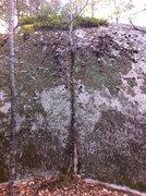 Rock Climbing Photo: A perfect handcrack needs some help.