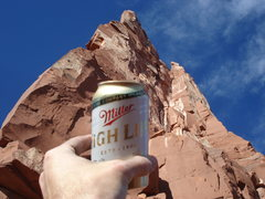Rock Climbing Photo: Living the High Life.