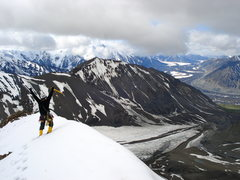 Rock Climbing Photo: Summit, Peak 7182, Denali National Park