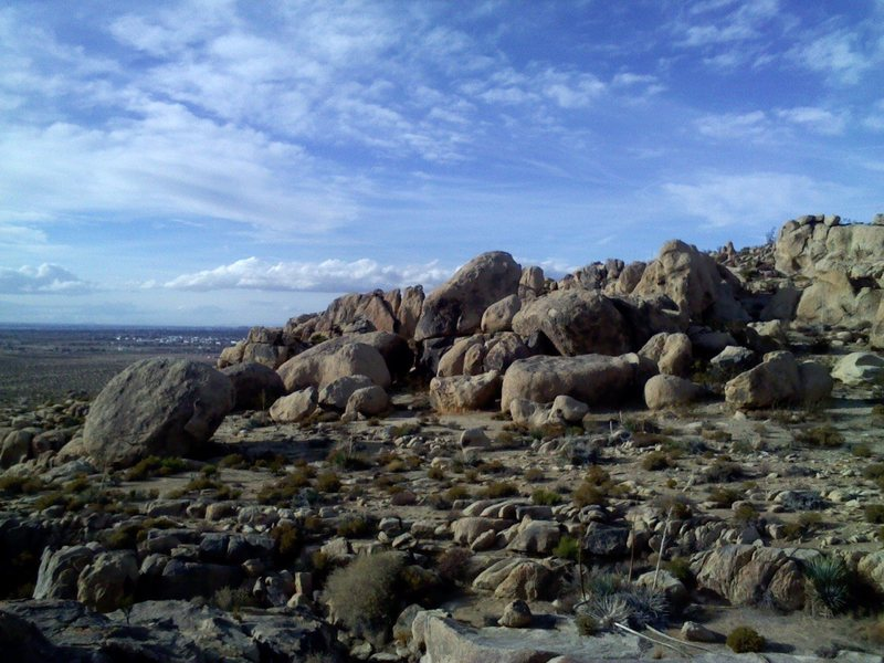Rock Climbing Photo: Stonehenge Boulders from the West Side. Photo from...