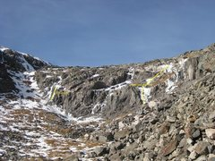 Rock Climbing Photo: Quandary Ice Crag on 11-30-12 with Trucksicle and ...