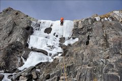Rock Climbing Photo: On the lower pitch, good learning ground? Photo by...