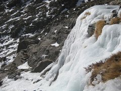 Rock Climbing Photo: Upper step in profile from walk off left, 11-30-12...