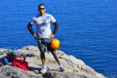 Rock Climbing Photo: After completing a 5.9 at Palisade Head, Minnesota...