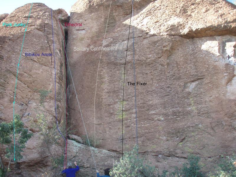 Rock Climbing Photo: Left side of Yakov Wall