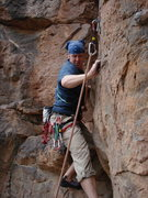 Rock Climbing Photo: Middle of route