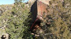 Rock Climbing Photo: Route beta.