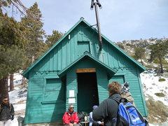 Rock Climbing Photo: Mt. San Antonio Ski Hut