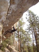 Rock Climbing Photo: Joel on Alice, 5.13a.