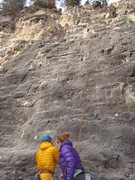 Rock Climbing Photo: Climbers getting ready to hop on Rabbit's Foot.  T...