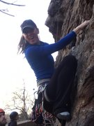 Rock Climbing Photo: dede at canal zone