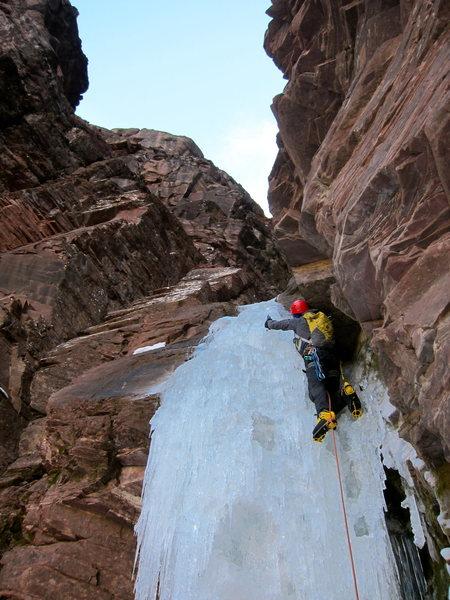 """Rock Climbing Photo: 2nd """"pitch""""."""
